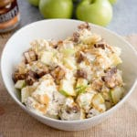 Caramel Apple Snickers Salad