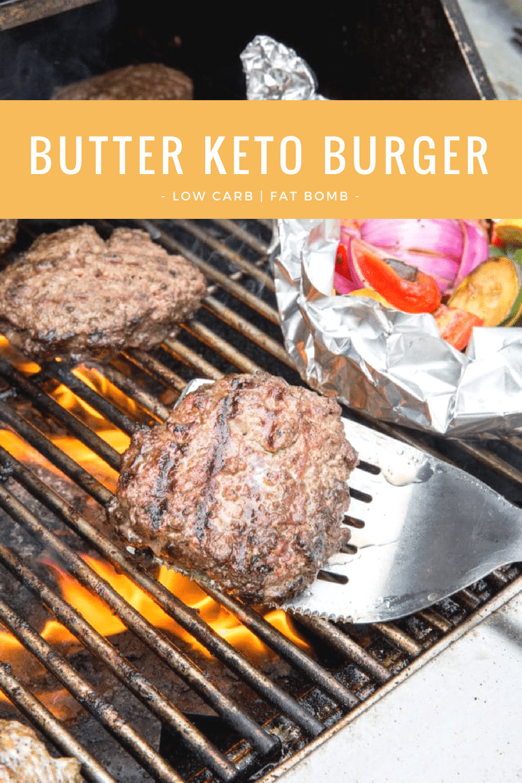 Yes – you CAN have awesome burgers, and they'll be better than ever! This recipe guarantees to yield a healthy keto, low-carb burger that does not skimp on taste. It's oozing with just the right amount of butter so it's bound to be amazing! Fat bomb magic. #lowcarb #fatbomb #keto #lowcarbburger #ketoburger