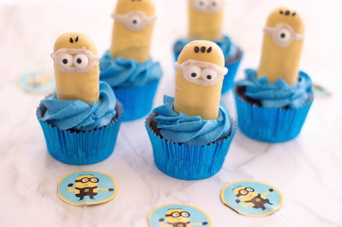 These Minion cupcakes are a fun and festive addition to any party!