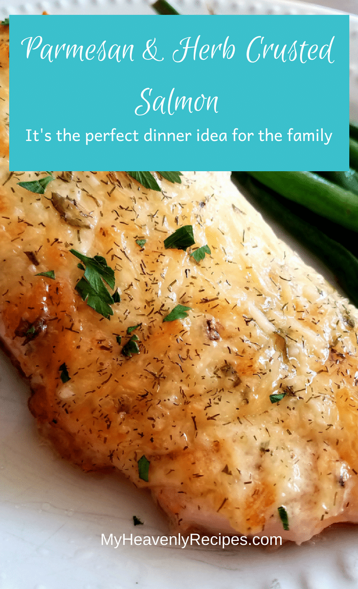 Having friends over? This parmesan and herb crusted salmon will definitely impress your guests! They'll look forward to it with every visit. #parmesan #salmon #lunchrecipes #dinnerrecipes #easyrecipe #bakedsalmon #tasty #delicious #foodblogger #foodblog