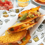 Low Carb/Keto Cheese Taco Shells