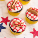 Hot Dog Cupcakes