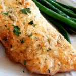 Baked Salmon with Mayo (Parmesan & Herb Crusted)