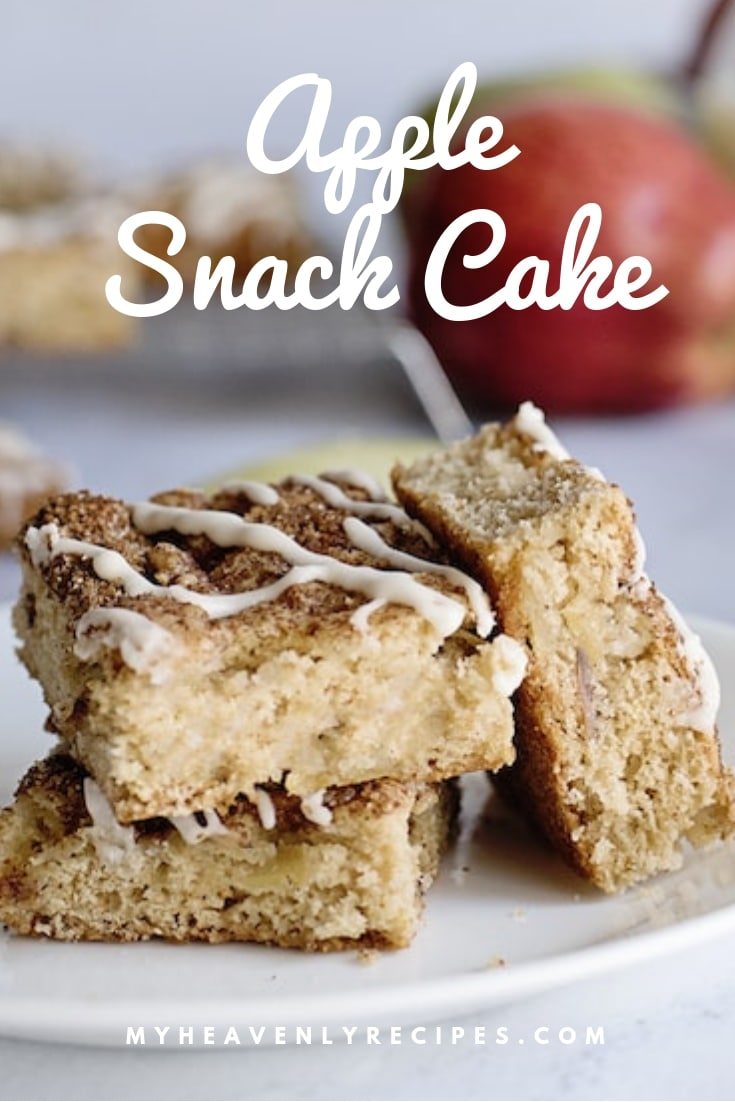 This Apple Snack Cake will make a great addition to your treats list! It's easy to make and are great for when apple season comes around.