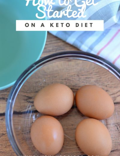eggs in bowl for how to get started on a keto diet image