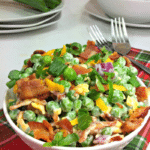 Sweet Pea Salad Recipe with Bacon