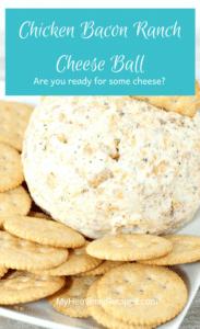 Dig into this cheesy ball of goodness!