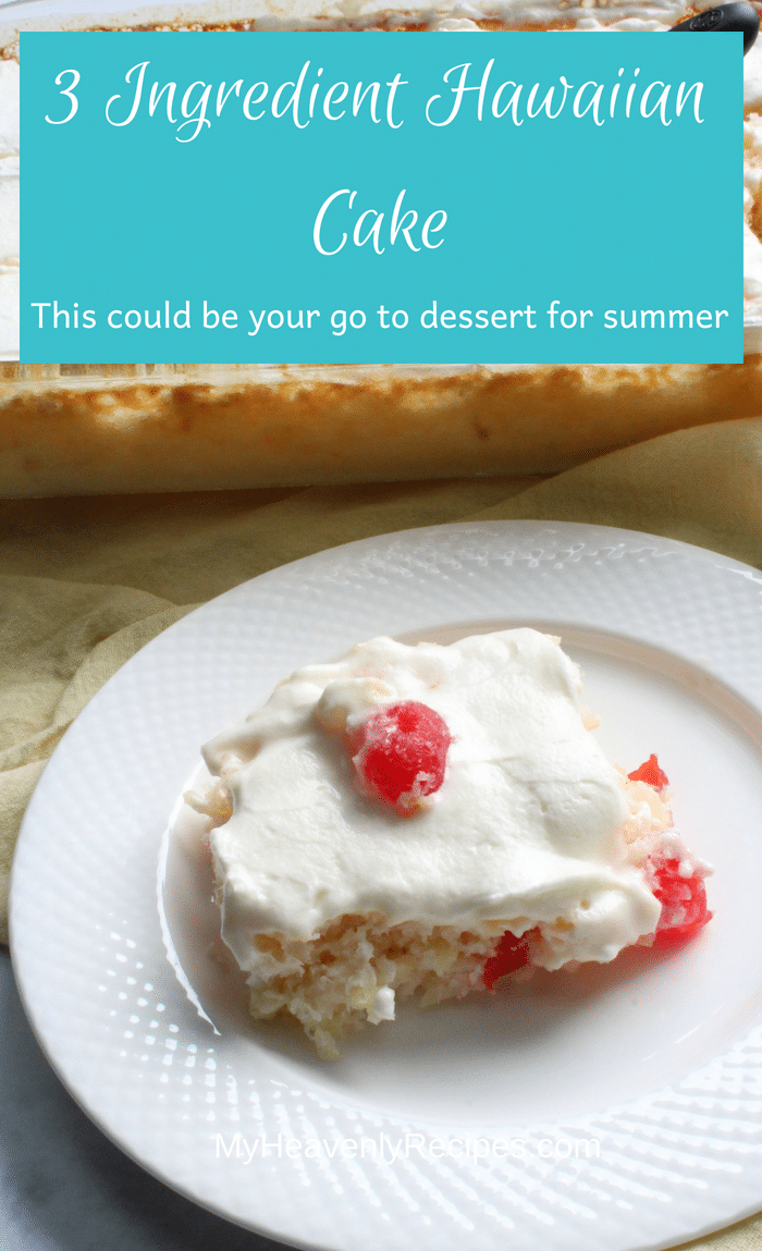 Hawaiian Cake is definitely a go-to easy dessert with a fantastic tropical twist! It's so easy to make that you can have your kids help out with it and they'll master the recipe in no time!