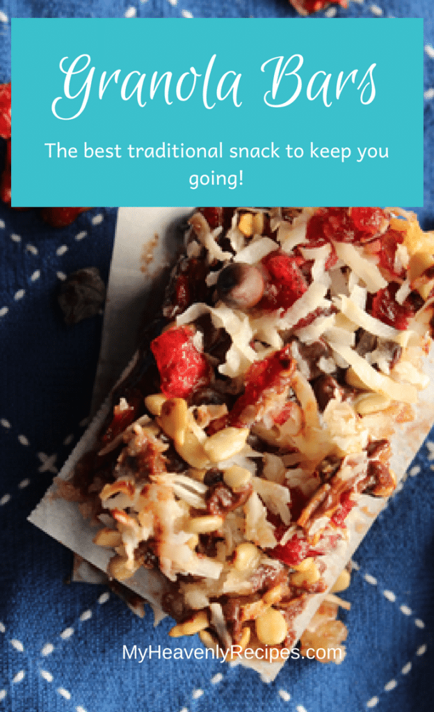 Make these super easy Granola Bars for snacks at home or on the go! It's a sure and simple way to give your family an energy bar full of yummy goodness.