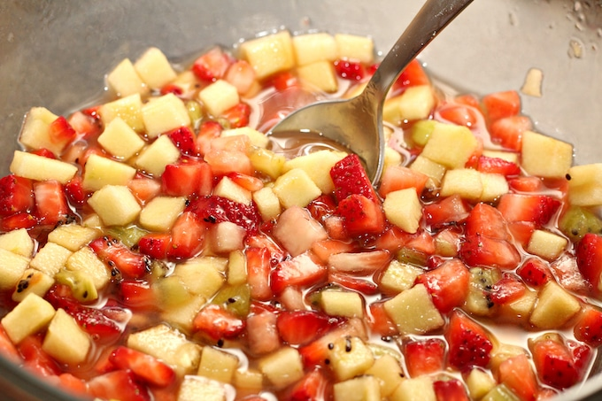This apple berry fruit salsa is a show stealer! Easy to make and super delicious!