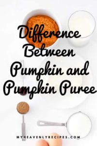 Difference Between Pumpkin and Pumpkin Puree featured image