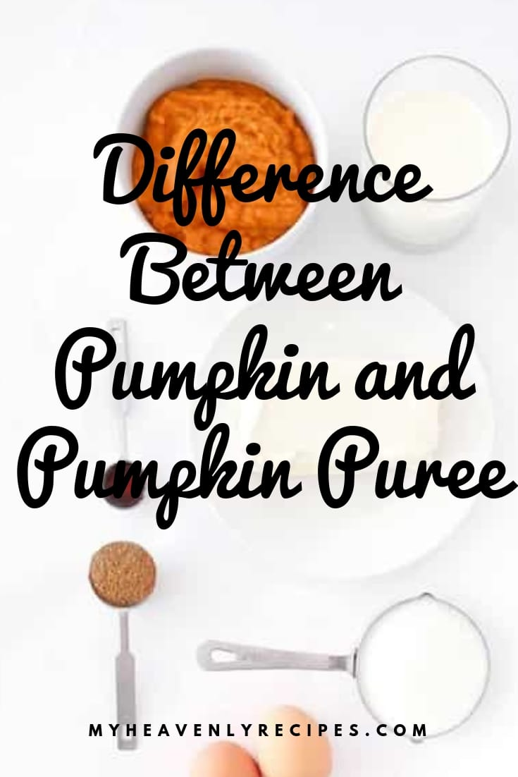 Are you curious about the difference between pumpkin and pumpkin puree? Have no fear because this is also simple to understand! #pumpkin #fall #pumpkinpuree @heavenlyrecipe