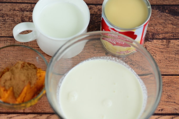 Pumpkin Spice Creamer Ingredients