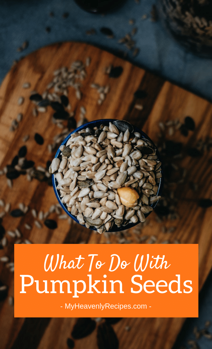 How many of you love putting pumpkin seeds on your mouth? Maybe you don't know what to do with pumpkin seeds. Well, here are some ideas!