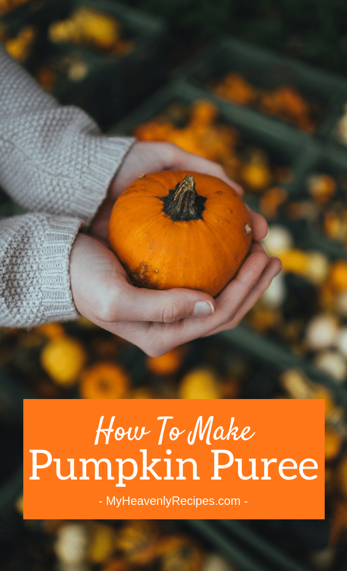 It takes a bit more work, but this Pumpkin Puree will make all your pumpkin treats taste amazing! You'll be surprised at how delicious this easy puree turns out. I promise, it's definitely worth the time you put in!