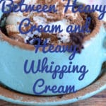 Difference Between Heavy Cream and Heavy Whipping Cream