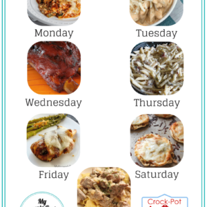 Dinner Meal Plan, First Issue