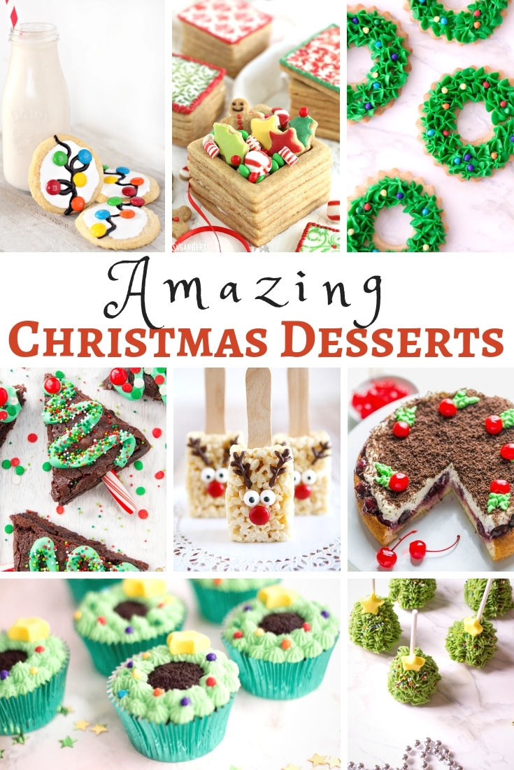 Amazingly Easy Christmas Desserts are so much fun and a great way to spend quality time with family and friends! #myheavenlyrecipes #desserts #christmas #traditions