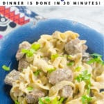 featured image for Instant Pot Beef Stroganoff