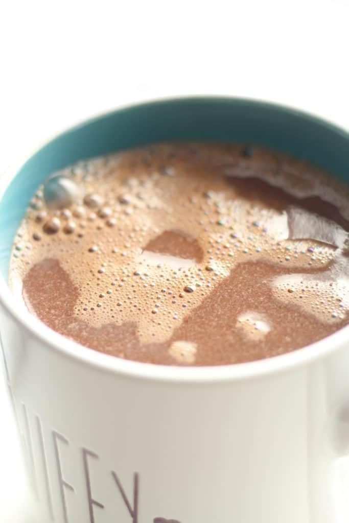 hot chocolate mix in wifey mug