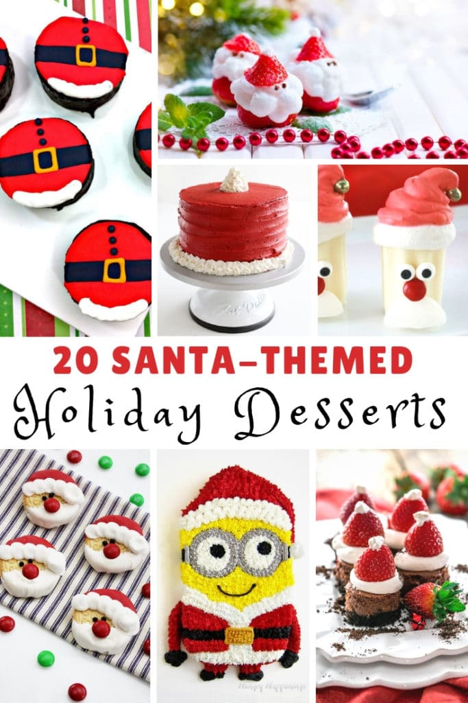 Santa-Themed Holiday Desserts