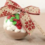 Heavenly Hot Cocoa Mix Gift in a Ornament