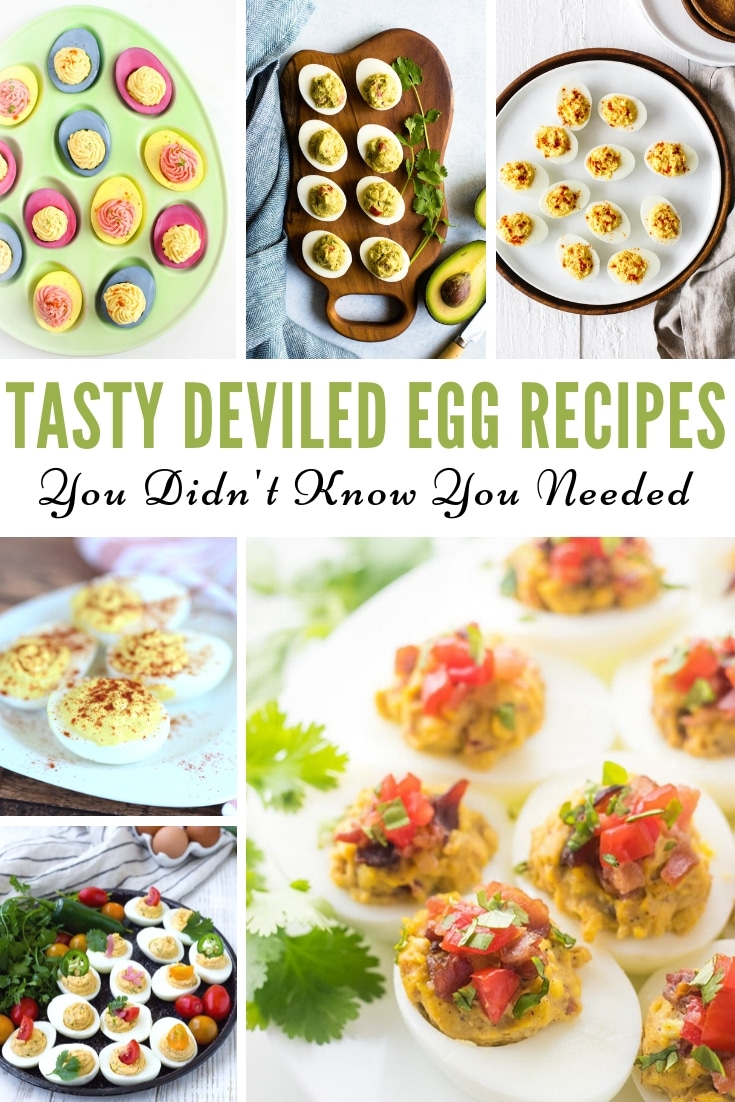 Do you love Deviled Eggs? If so, these Tasty Deviled Egg Recipes are some of the best that you fill find on Pinterest. These have been made hundreds of times by readers and are sure not to be a Pinterest Fail! #deviledeggs #recipe #keto #myheavenlyrecipes