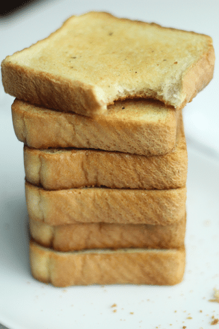 stack of texas toast garlic bread