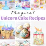 Magical Unicorn Cake & Dessert Recipes
