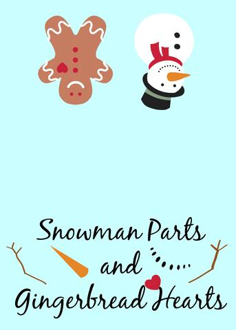 snowman parts label