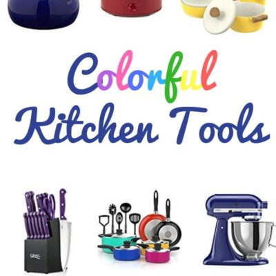 colofrful kitchen tools featured image