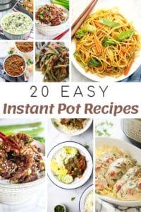 easy instant pot recipes featured image for myheavenlyrecipes.com