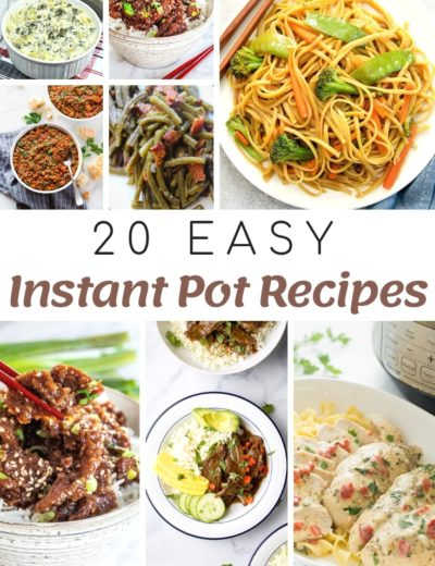 easy instant pot recipes featured image for myheavenlyrecipes.com