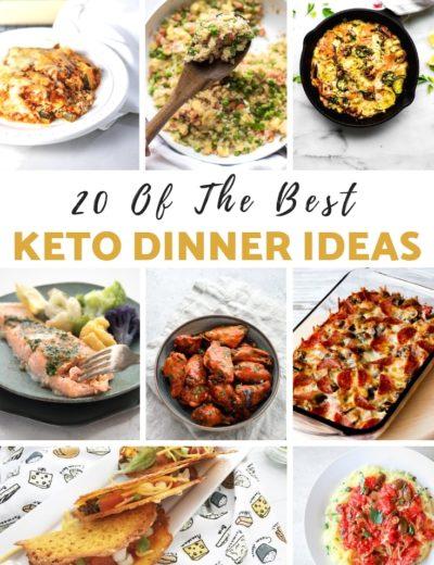 keto dinner ideas - myheavenlyrecipes.com
