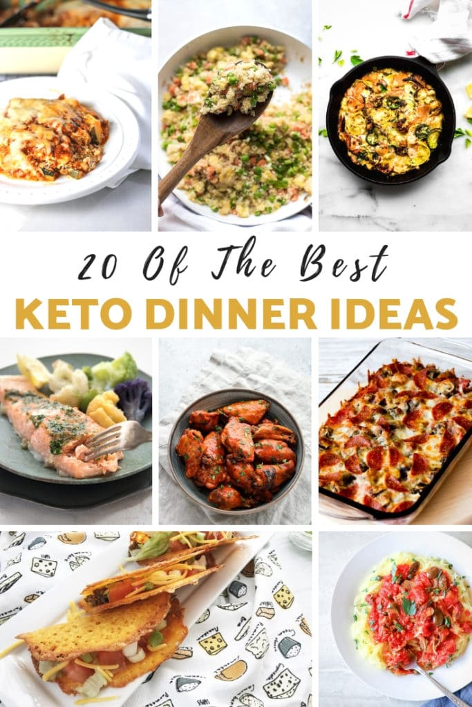 keto dinner ideas - myheavenlyrecipes.com