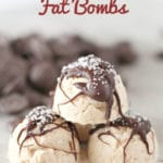 Salted Caramel Fat Bombs