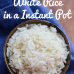 How to Make White Rice in a Instant Pot