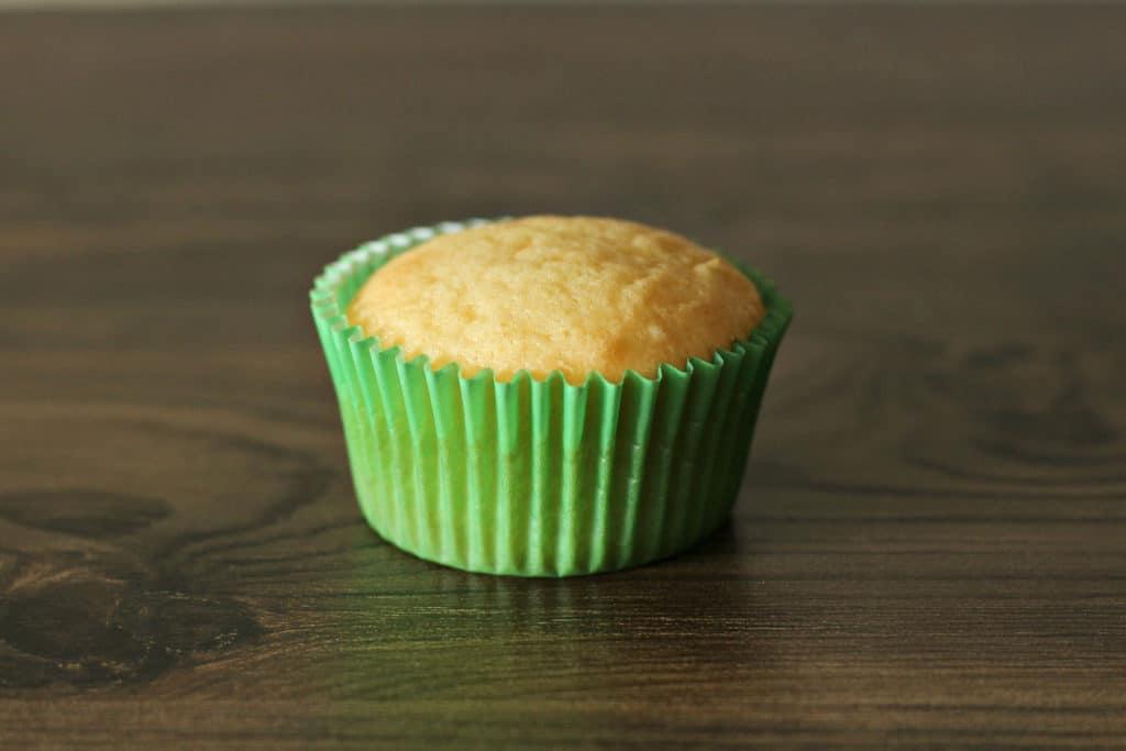 Cupcakes in green cupcake paper