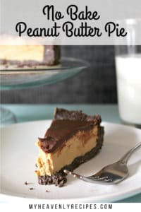 no bake peanut butter pie featured image
