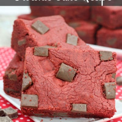 red velvet chocolate brownie cake recipe