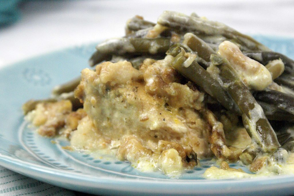chicken casserole with stuffing