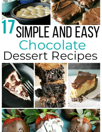 simple and easy chocolate dessert recipes featured image