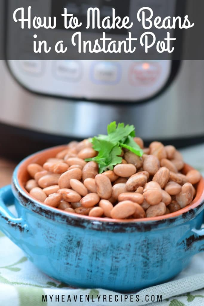 make beans in the Instant Pot