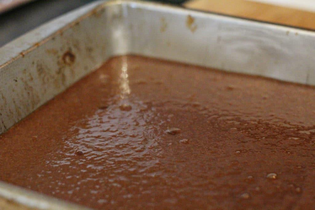 step 2 healthier chocolate brownies