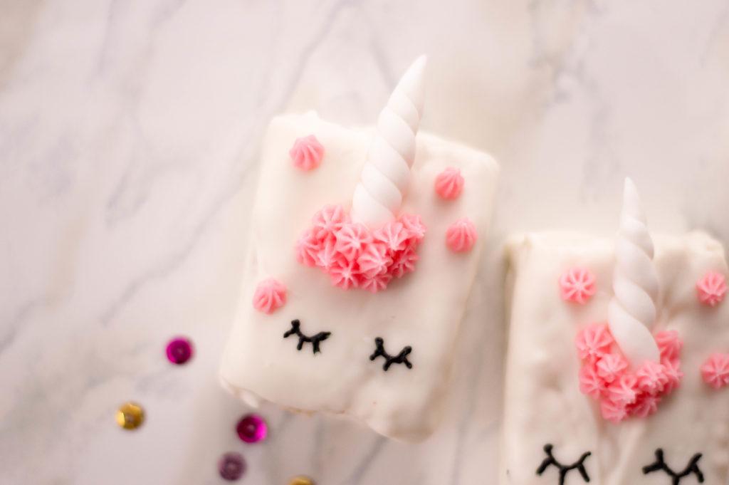 finished unicorn treat