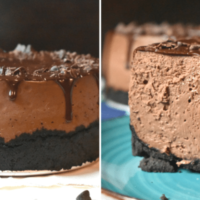 death by chocolate cheesecake featured image