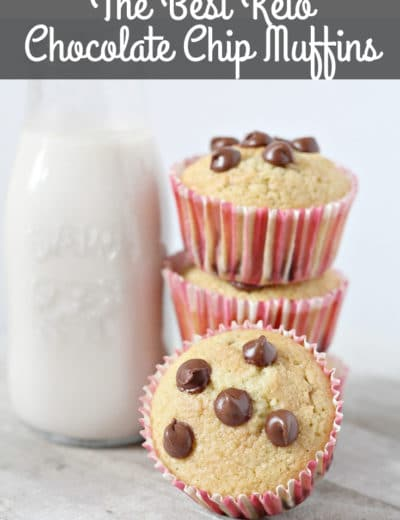 the best chocolate keto muffins