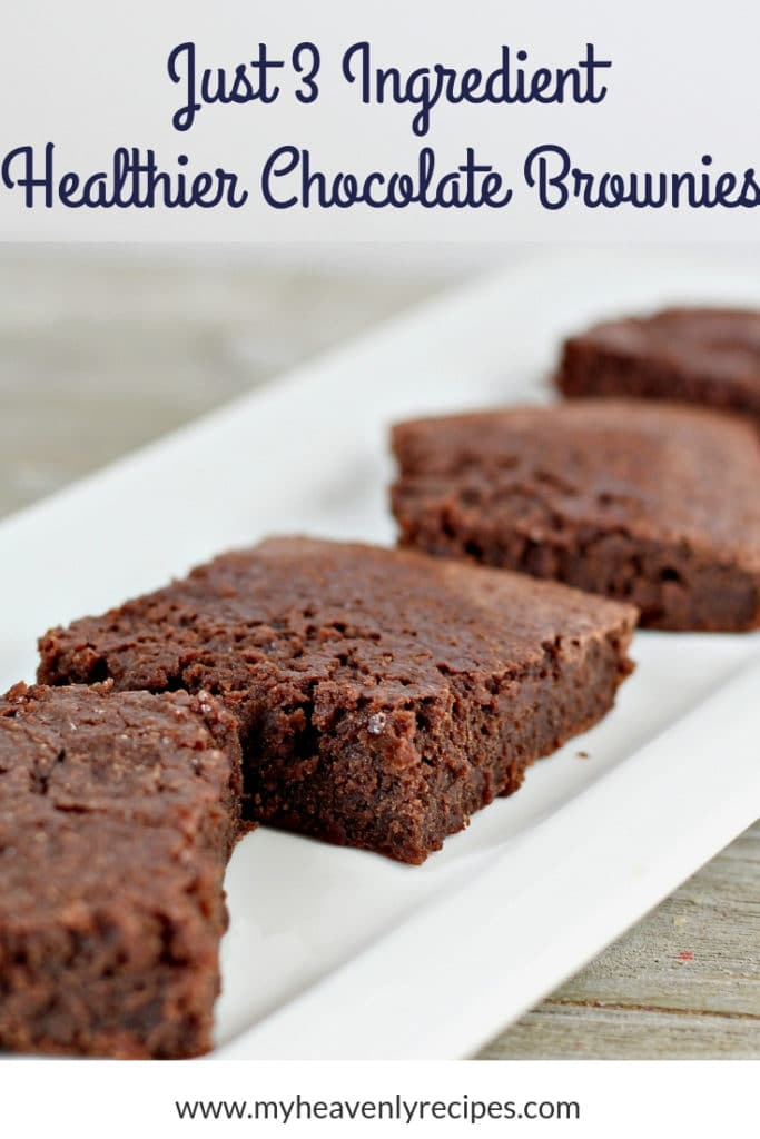 healthier chocolate brownies