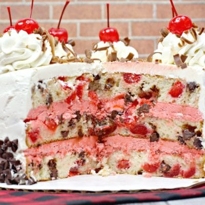 Cherry Garcia Chocolate cherry cake