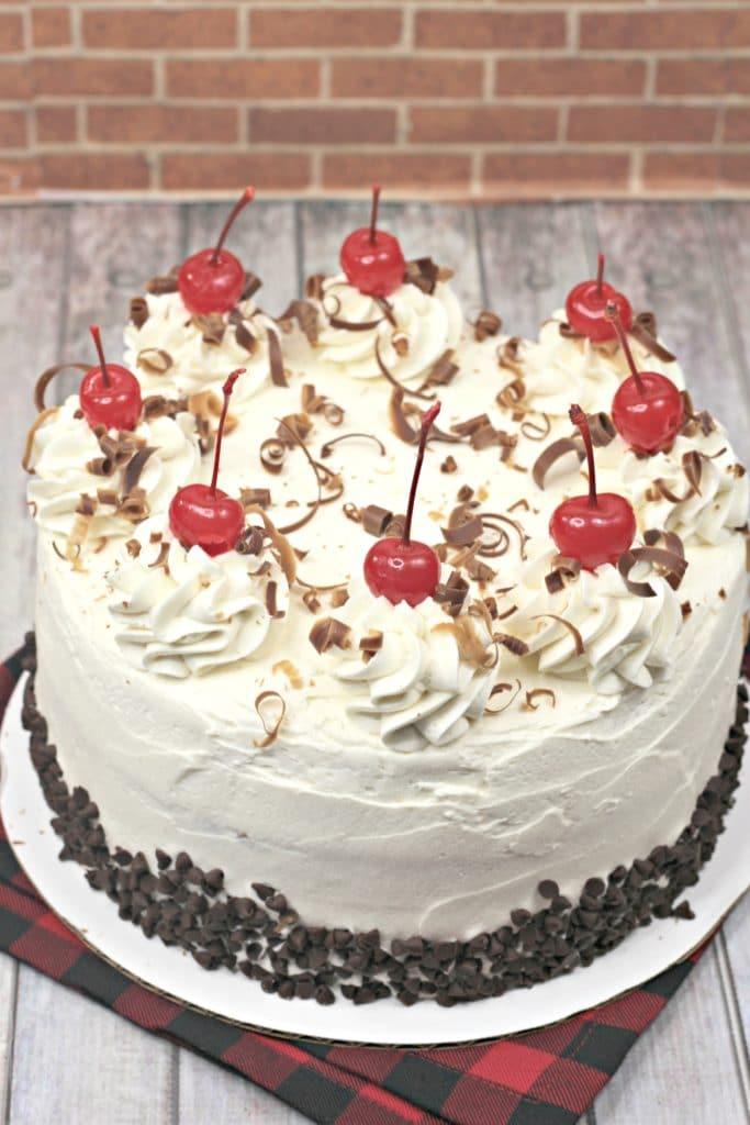 Chocolate cherry cake, Cherry Garcia Cake